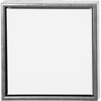 Canvas met lijst buitenmaat 34x34, binnenmaat 30x30