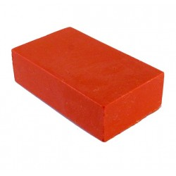 Encaustic wasblokje 03 oranje