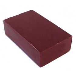 Encaustic wasblokje 12 rood violet