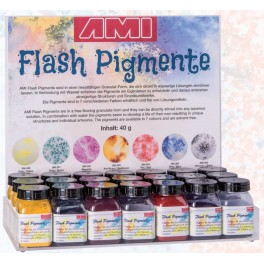 Flash pigment proefsetje 7 stuks