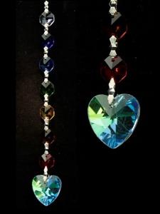 Hanger chakra hart regenboog