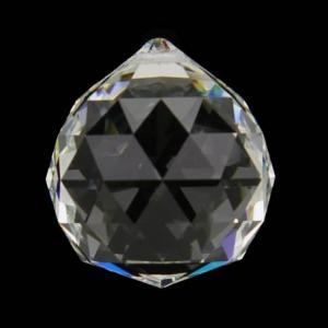Hanger kristal bol 2cm