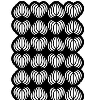Stencil A5 harten gestreept