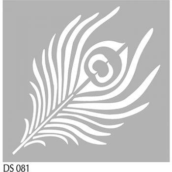 Stencil A5 pauwenveer