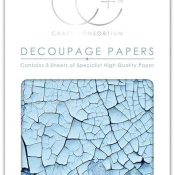 blue-crack-texture-decoupage-paper
